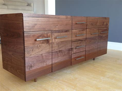 Handmade Bathroom Furniture - made solid walnut vanity with turned legs by