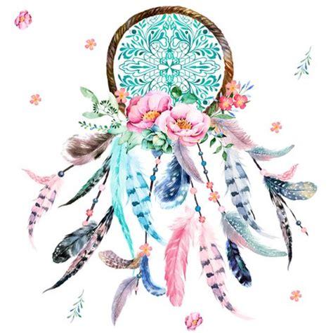 Dreamcatcher Single 1 8 quot pink aqua dreamcatcher fabric shopcabin spoonflower
