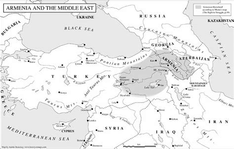 middle east map armenia untitled document www historyonmaps