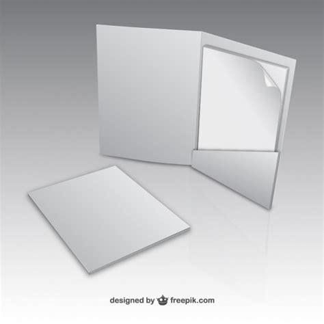 Paper Folder Mock Up Vector Free Download Free Folder Mockup
