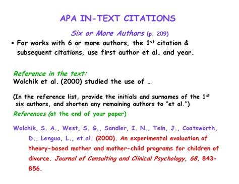 apa format citation in text 5 college application essay topics for citing scientific