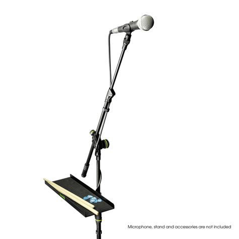 Microphone Stand Holder With Smartphone Lazypod Kh 33 gravity gmatray2 microphone stand tray dj city