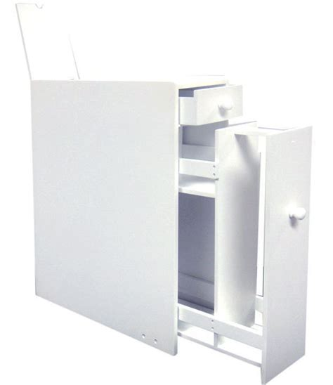 Bathroom Tissue Storage Toilet Paper Storage Cabinet White In Toilet Paper Storage