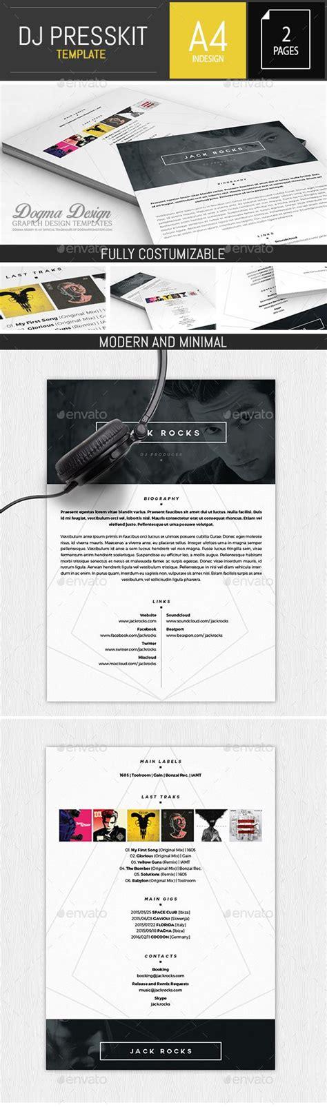 press kit template 7 best davidson ospina epk press kit images on