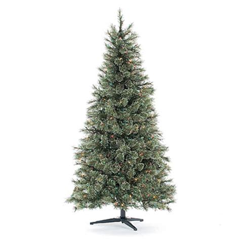 view 6 pre lit artificial christmas tree deluxe cashmere
