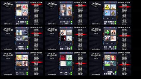 imagenes y palabras soluciones 4fotos1palabra nuevo 11 soluciones indice 1 9 youtube