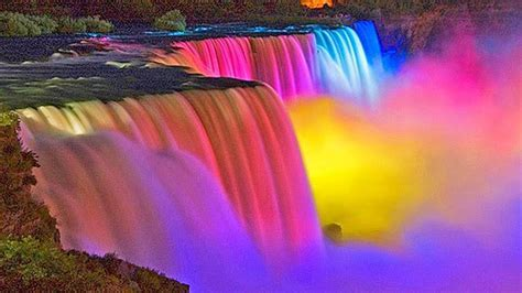 niagara falls night the amazing niagara falls at night youtube
