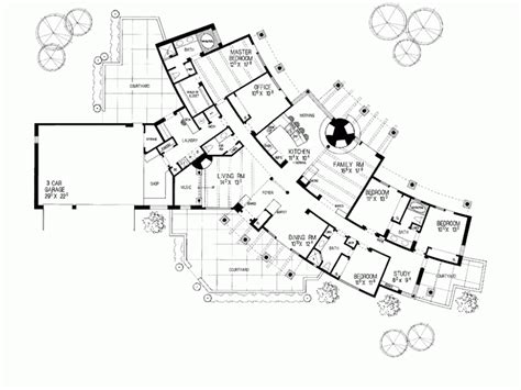 the curve floor plan level 1 濱海建築 pinterest adobe house architecture and