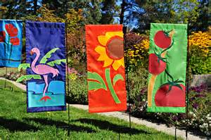 Garden Flags by How To Decorate A Garden Orchid Flowers
