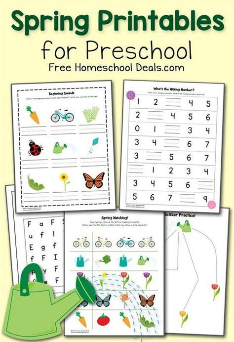 printable spring preschool activities free spring printables pack for preschool instant