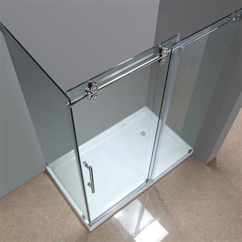 5 foot sliding glass door 5ft 6 6ft rectangle 90 degre bypass frameless sliding