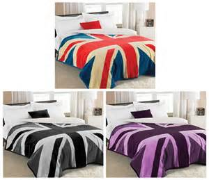union jack comforter vintage style union jack bedding double duvet quilt cover