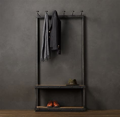 Coat racks smart stylish and creative solution to no entryway closet