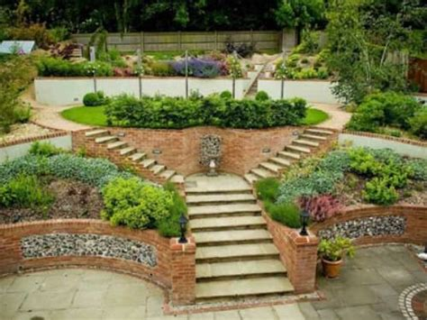 Landscaping Ideas For Sloping Gardens Steeply Sloping Garden Design The Interior Design Inspiration Board