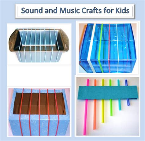 musical crafts for learning ideas grades k 8 sound and craft