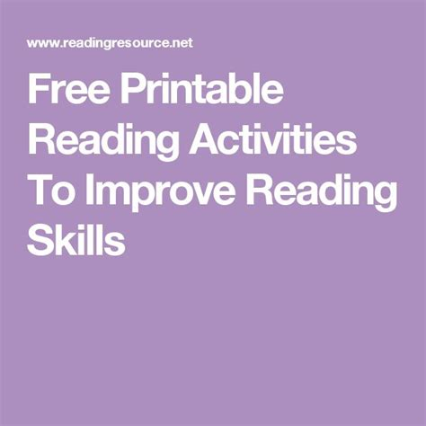 Prenada Media Improving Reading Skill In 17 best images about tutoring on occupational therapist activities and b and d