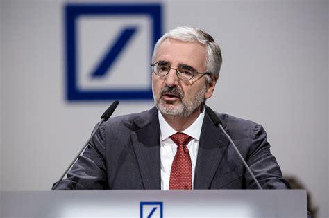aufsichtsrat deutsche bank austro aufseher abklatschen bei deutsche bank