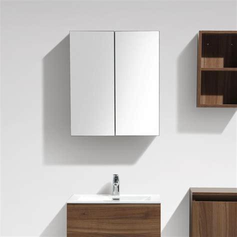 étagère 60 Cm Largeur by Armoire De Toilette Bloc Miroir Siena Largeur 60 Cm Noyer