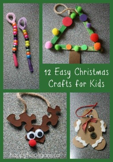 easy christmas crafts  toddlers classroom ideas