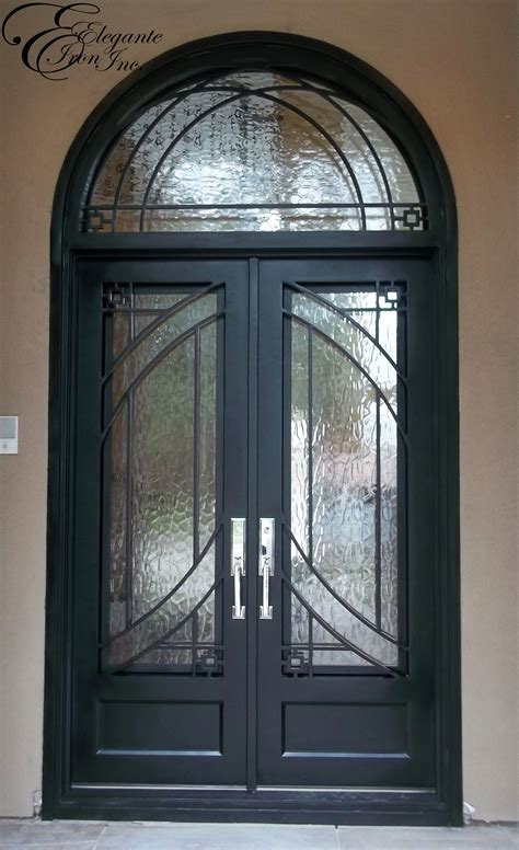 interior doors with arched transom custom wrought iron door with arched transom