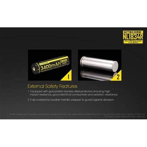 Nitecore 16340 Micro Usb Rechargeable Li Ion Battery 650mah Nl1665r nitecore 18650 micro usb rechargeable li ion battery 3400mah nl1834r black jakartanotebook