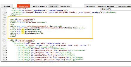 membuat web statis dengan html memasang halaman statis html nandatrio