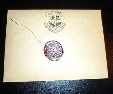 Harry Potter Acceptance Letter Seal Hogwarts Acceptance Letter