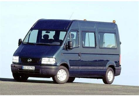 opel movano 2001 aut 243 katal 243 gus opel movano 2 5 d l1h1 4 ajt 243 s 80 24 le