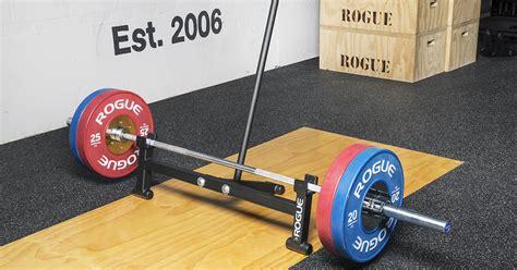 rogue deadlift bar jack weight training barbell