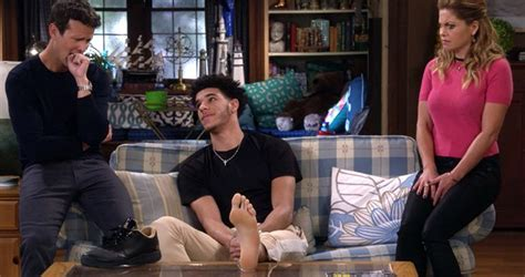 Fuller 1 Set total pro sports lakers rookie lonzo makes cameo on fuller house