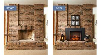 removing fireplace insert a guide to convert a gas fireplace to an electric