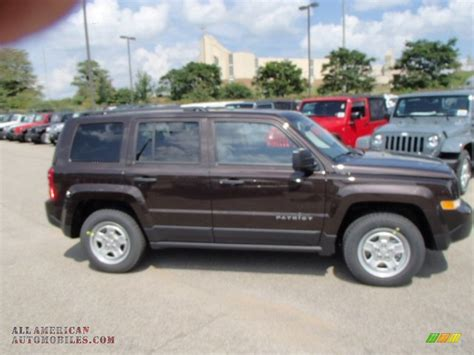 light brown jeep 2014 jeep patriot sport in rugged brown metallic photo 5