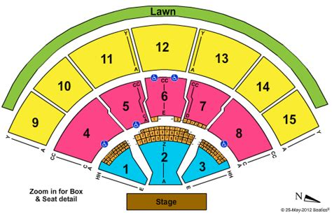 tweeter center seating chart clickitticket concert sports and broadway tickets