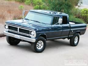 1970 ford f 250 crew cab low budget high value diesel