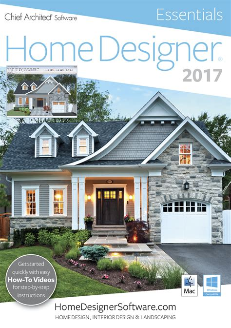 home designer essentials 2017 pc 59 99