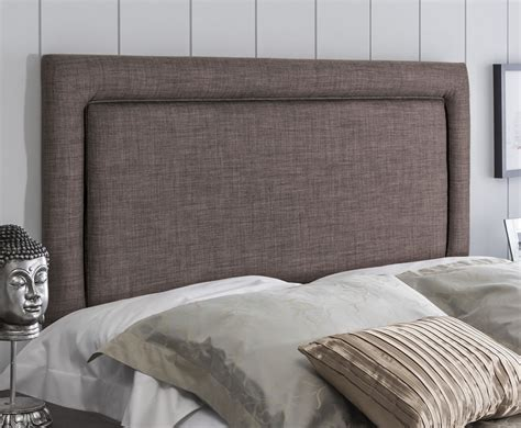 rimini faux leather and suede headboard