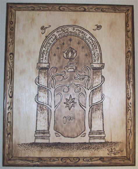 doors of durin by bobbie gurl on deviantart