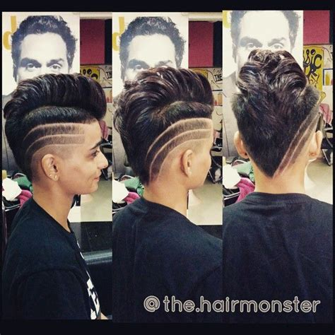 short shaved hairstyle 1000 ideas about short shaved hair 1000 ideas about female mohawk on pinterest undercut
