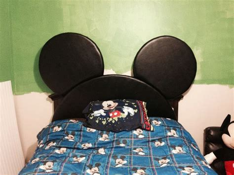 mickey mouse headboard diy mickey silhouette headboard ii s bedroom