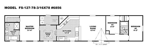 16 wide mobile home floor plans single wide mobile home floor plans michigan