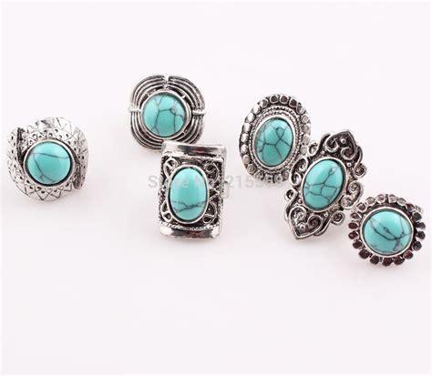 Turqoise Serat Emas newest turquoise rings ring vintage quality