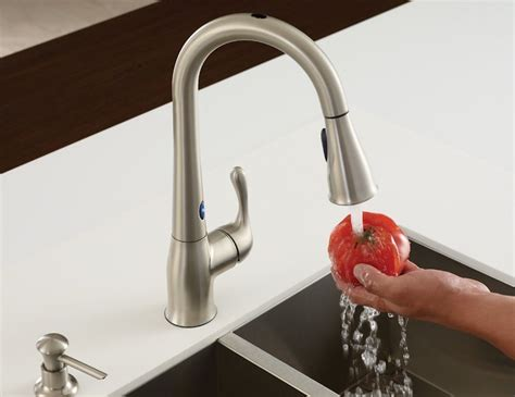 Motion Activated Faucet by Moen Ridgedale Motion Activated Faucet 187 Gadget Flow