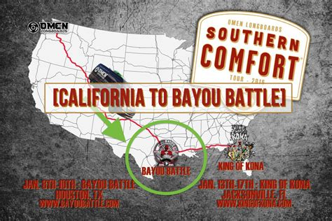 how long does southern comfort last omen southern comfort tour part 2 california to bayou