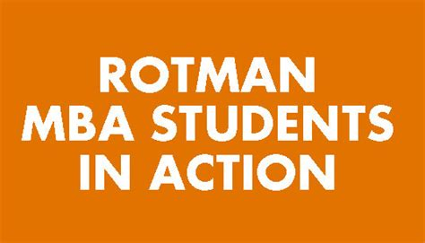 Rotman Mba Number Of Applicants by Designworks Rotman School Of Management