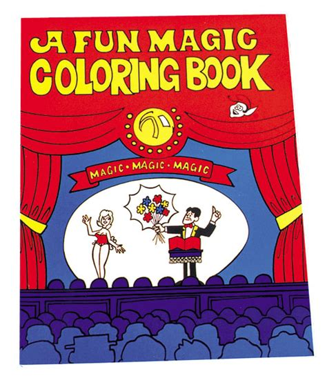 coloring book of magic magic coloring book decorations props