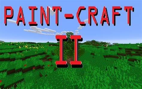 textured craft paint paint craft ii minecraft texture pack