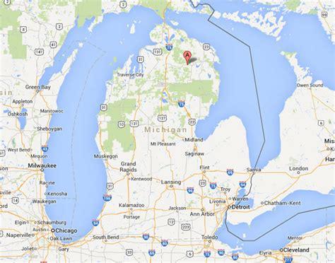 map of northern mi northern michigan map adriftskateshop