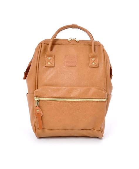 Anello Synthetic Leather Backpack faux leather hinged clasp mini backpack products anello 174 official site