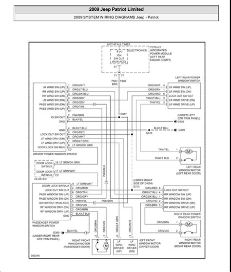 jeep door wiring diagram jeep liberty door lock parts 00