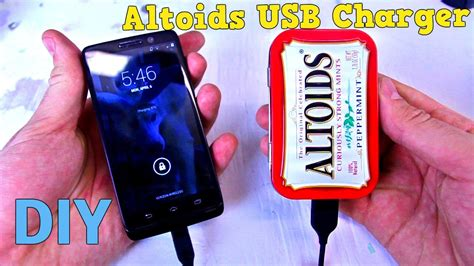 altoids tin phone charger altoids phone charger tech and